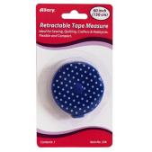 Allary Retractable Tape Measure Polka Dot Blue