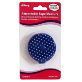 Allary Retractable Tape Measure Polka Dot Blue