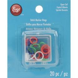 Boye Stitch Marker Rings