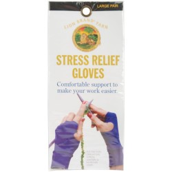 Lion Brand Stress Relief Gloves Large