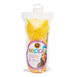 Lion Brand Keppi Crochet Kit Lollipop Yellow