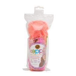 Lion Brand Keppi Crochet Kit Rose Garden - Sparkle