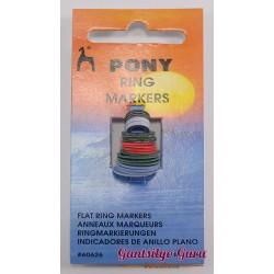 Pony Flat Ring Stitch Marker
