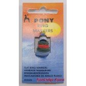 Pony Flat Ring Stitch Marker