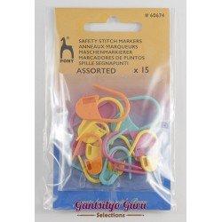 Pony Safety Stitch Marker Assorted