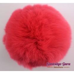 Faux Fur Pompom 16