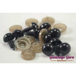 Safety Eyes Black 10MM