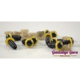 Safety Eyes Yellow 8MM