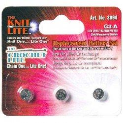 Crochet Lite Replacement Batteries 3/Pack