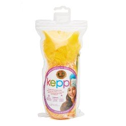 Lion Brand Keppi Crochet Kit Lollipop Yellow