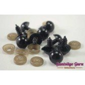 Safety Eyes Black 12MM