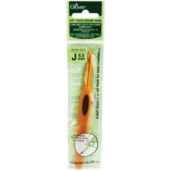 Clover Soft Touch Crochet Hook 6MM