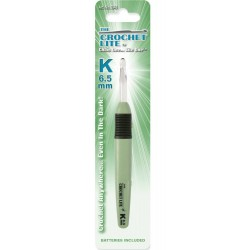 Crochet Lite Crochet Hook K / 6.5mm