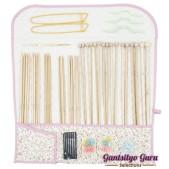 Hamanaka Bamboo Knitting Needle Set