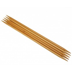 HiyaHiya Bamboo DPNs 5.00mm, 5 in.