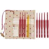 Tulip Etimo Red Crochet Hook Set