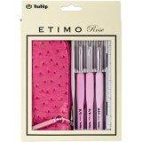 Tulip Etimo Rose 3-Pc. Crochet Hook Set