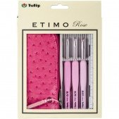 Tulip Etimo Rose 3-Pc. Crochet Hook Set