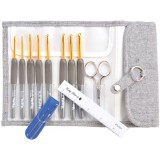 Tulip Etimo 8-Pc. Aluminum Crochet Hook Set