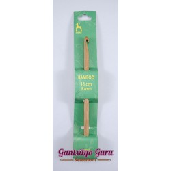 Pony Bamboo Crochet Hook 6.0MM