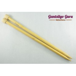 Bamboo Straight Knitting Needles 12.0 (34 cm)