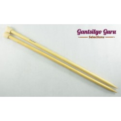 Bamboo Straight Knitting Needles 9.0 (34 cm)