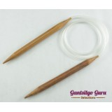 Bamboo Circular Knitting Needles 10.0 (80 cm)