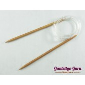 Bamboo Circular Knitting Needles 5.0 (80 cm)
