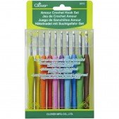 Clover Amour Crochet Hook Set (10 Pcs.)