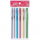 Susan Bates 6-Pc. Silvalume Crochet Hook Set