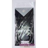 Steel Circular Knitting Needles 15 / 1.75mm (80 cm)