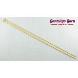 Bamboo Straight Knitting Needles 3.0 (34 cm)