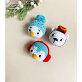 Christmas Trio Amigurumi Crochet Kit