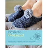 Easy Crochet Weekend: 30 Quick Projects To Make For Your Home and To Wear