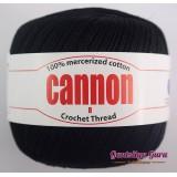 Cannon Mercerized Cotton 8 Thread Ball Black