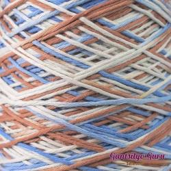 Dapper Dreamer Combed Cotton Mediterranean