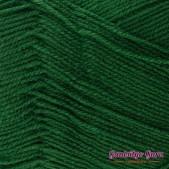 Gantsilyo Guru Baby Cashmere Acrylic Wreath Green