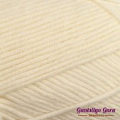 Gantsilyo Guru Milk Cotton Light Mini Ivory