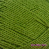 Gantsilyo Guru Milk Cotton Light Mini Leaf Green