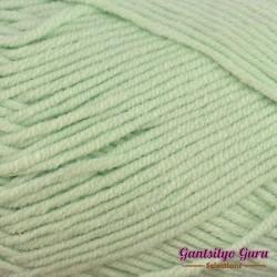 Gantsilyo Guru Milk Cotton Light Mini Soft Green