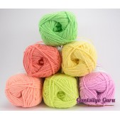 Gantsilyo Guru Milk Cotton Light Mini Color Palette New Year