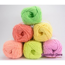 Gantsilyo Guru Milk Cotton Light Mini Color Palette New Year
