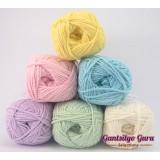 Gantsilyo Guru Milk Cotton Light Mini Color Palette Pastels