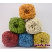 Gantsilyo Guru Milk Cotton Light Mini Color Palette Retro