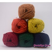 Gantsilyo Guru Milk Cotton Light Mini Color Palette Safari