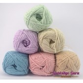 Gantsilyo Guru Milk Cotton Light Mini Color Palette Shabby Chic