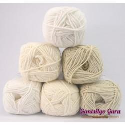 Gantsilyo Guru Milk Cotton Light Mini Color Palette Snowstorm