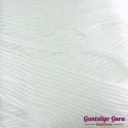Gantsilyo Guru Baby Cashmere Acrylic White