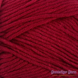 Gantsilyo Guru Milk Cotton Medium Cherry Red