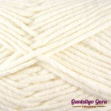 Gantsilyo Guru Milk Cotton Medium White